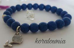 Lapis lazuli z kwiatkiem-kamienie naturalne