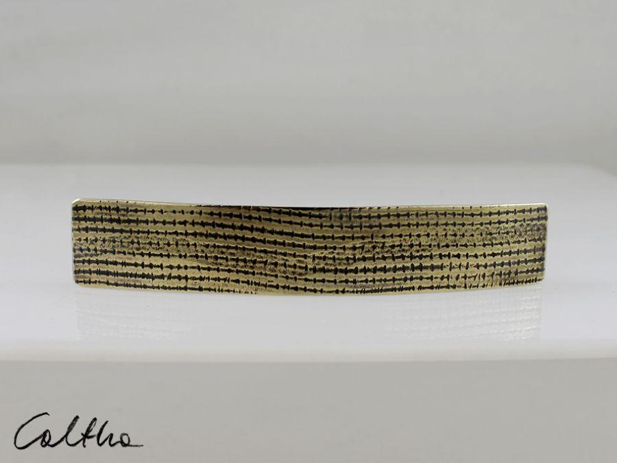 Siatka - mosiężna  klamra 180212-02