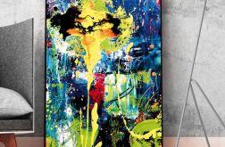 Obraz na płótnie abstrakcja 2 70x100 cm