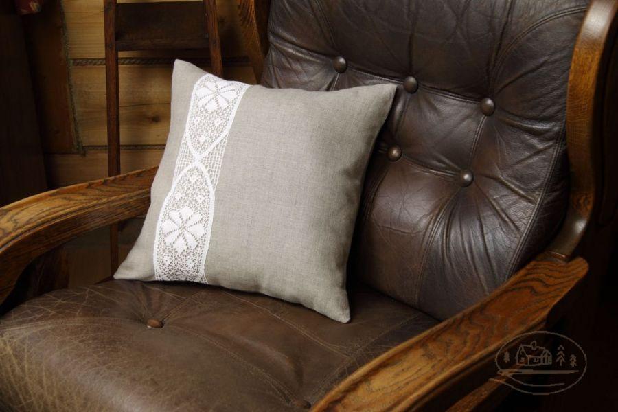 """Dekoracyjna powłoczka na poduszkę """"Koronkowa"""""""