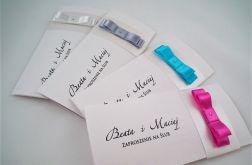 Zaproszenia ślubne, Na Ślub z serii Sweet