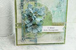 Dla Babci i Dziadka - kartka w pudełku