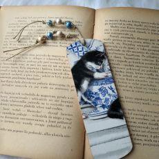 zakładka dla miłośników kotów
