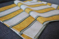 4 piknikowe podkładki pod talerze - pasy