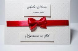 Zaproszenie ślubne wanilia