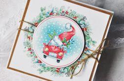 Zestaw 5 kartek świątecznych