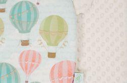 Zestaw niemowlaka balony - ecru