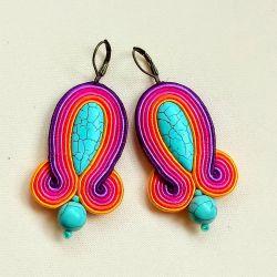 Kolczyki sutasz Multicolor