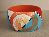 Ręcznie malowana bransoletka