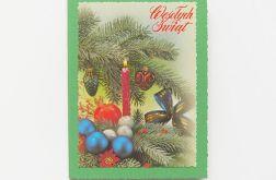 Zielona kartka świąteczna 2