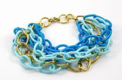 Niebieski łańcuch