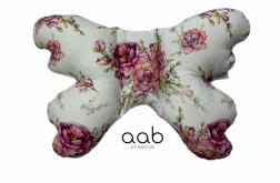Motylek poduszka antywstrząsowa Kwiaty (414049)