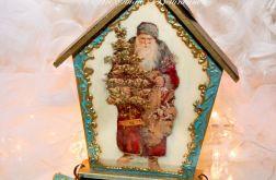 Zawieszka antyczna świąteczna