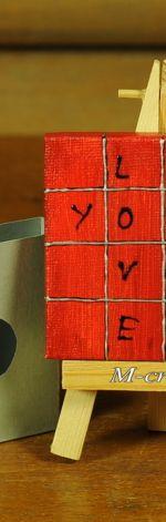 Kartka-Magnes: Love You...