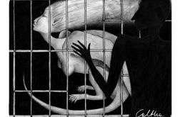 Smoczyca - podkładka pod mysz
