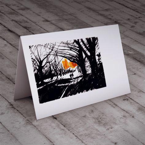 Spacer... karteczka
