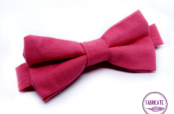 Mucha męska różowa - Fabricata