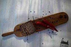 Dębowa rustykala deska do serwowania