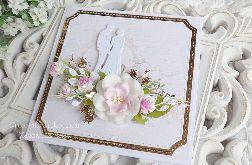 Kartka ślubna w pudełku 375