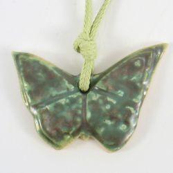 Wisior ceramiczny motyl