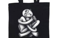 Zaplątanie - torba z nadrukiem