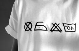Koszulka ręcznie malowana unisex metka