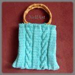 torebka robiona na drutach