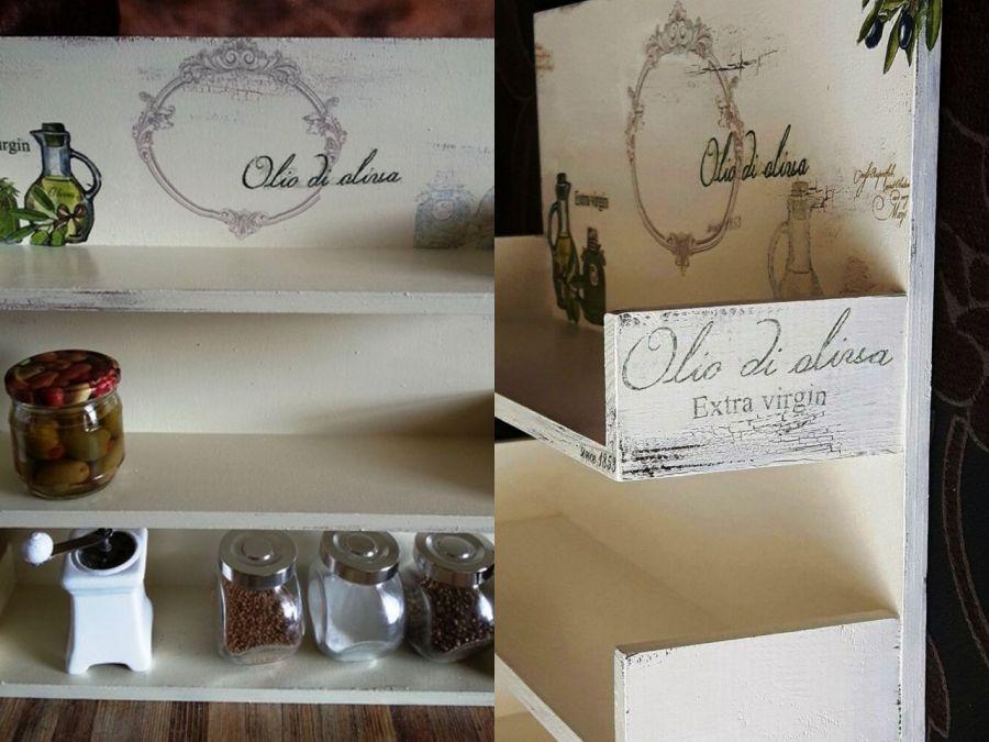 Półka do kuchni  oliwki