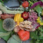 wianek z kukurydzą