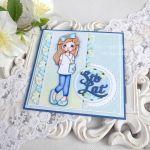 Kartka urodzinowa dla dziewczynki 46 -