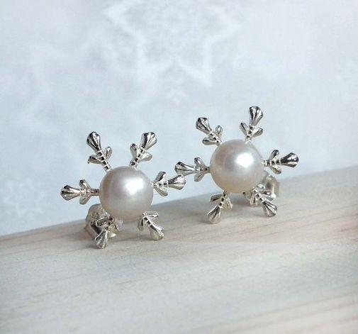 Śnieżynki ze srebra