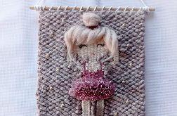 Makatka baletnica dekoracja z imieniem