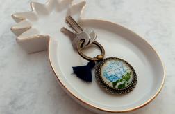 Brelok do kluczy hortensja - Fabricate