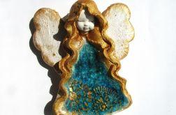 Anioł ceramiczny Basia 31 chrzest ślub