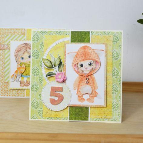 Kartka urodzinowa - dowolna cyfra