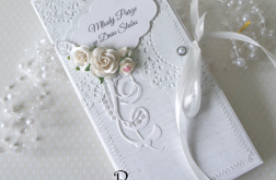 Ślubna kopertówka - inaczej vel.32