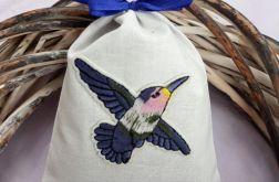 woreczek lawendowy - koliber
