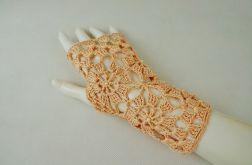 Rękawiczki, mitenki łososiowe