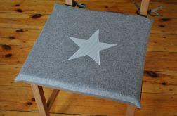 Poduszki na krzesła,siedziska - z filcu 4szt