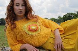 słoneczny sweterek