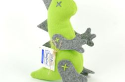 Mini dinozaur zielono-szary