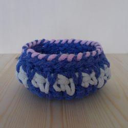 Koszyk Trzy kolory - niebieski