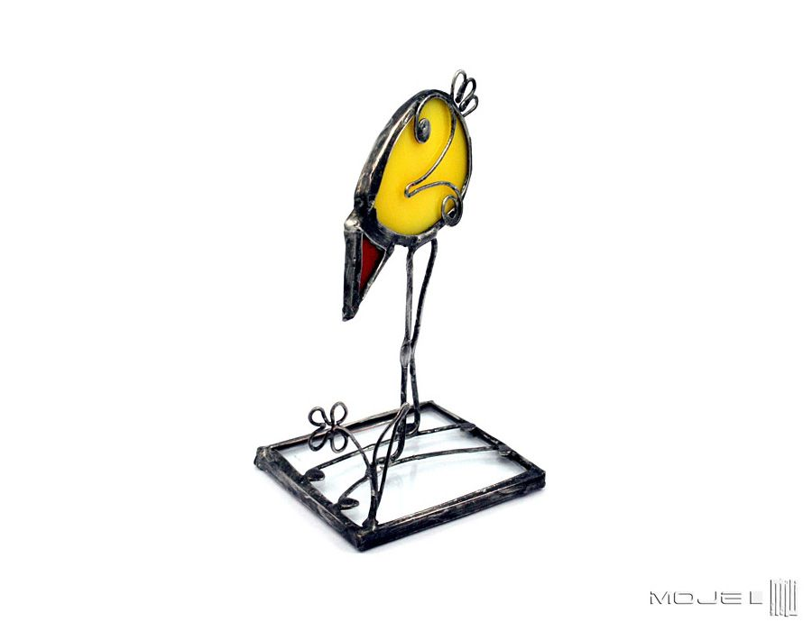 Kurczak 03 - witrażowy kurczak