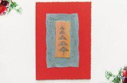 Kartka  świąteczna minimalizm 72