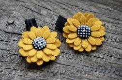Momilio * spinki do włosów kwiaty