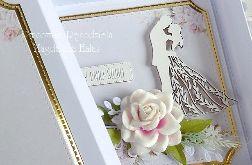 Kartka ślubna w pudełku 265