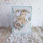 Kartka chrzest z dzidziusiem Birdsong1 GOTOWA -