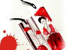 Kobieta z Parasolem - zakładka do książki