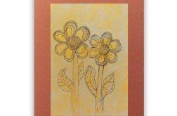 Kwiaty rysunek, kwiaty obrazek kwiatki n12