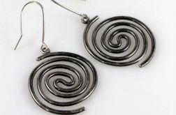Spiralne - srebrne kolczyki 2109-16